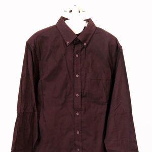 Club Monaco Burgundy Shirt